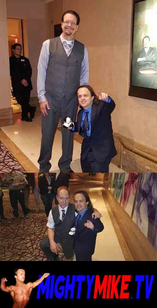 Penn & teller Rio Casino Las Vegas Little person mighty mike hire a midget. Juggling, Rio Las Vegas. Party Fun entertainment. Dwarf entertainer. Call/text: 1-714-514-5514 or mightymikemurga@me.com